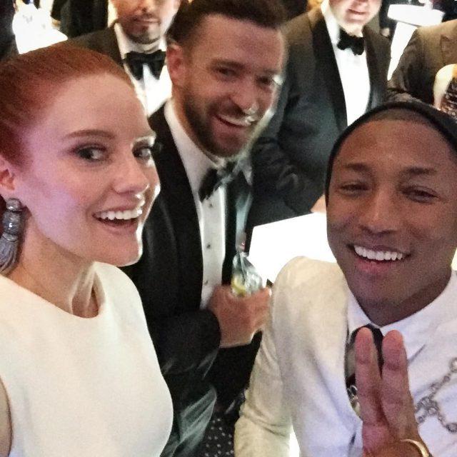 Selfie des Abends Getrennt voneinander sind die beiden ja schonhellip