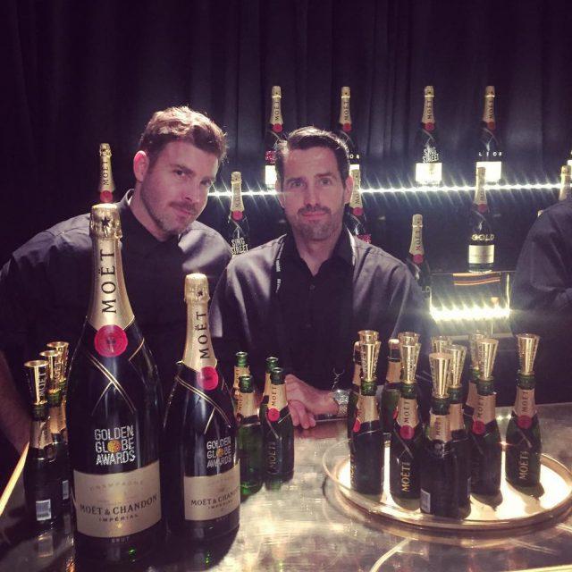 Die Jungs mit den Flaschen aftershow party glam goldenglobes goldenglobes2017hellip
