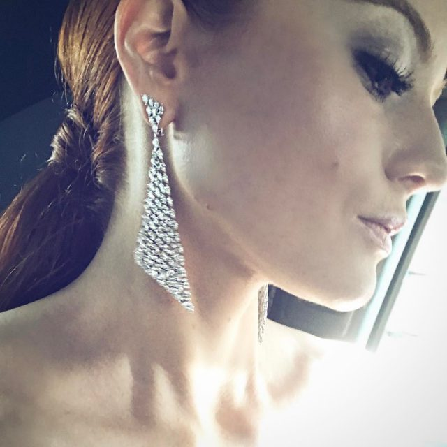 Thank you messikajewelry for that amazing earrings!!  cannes2017 redcarpethellip