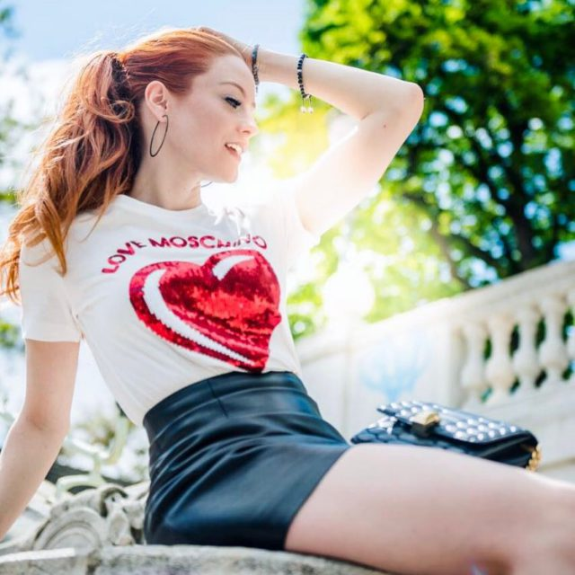 Summer time summertimes lovemoschino redhead sommersprossen sommeroutfit summeroutfit