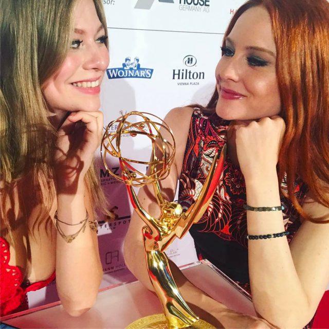 Trumen vom Emmy  mit der wundervollen zoestraub In derhellip