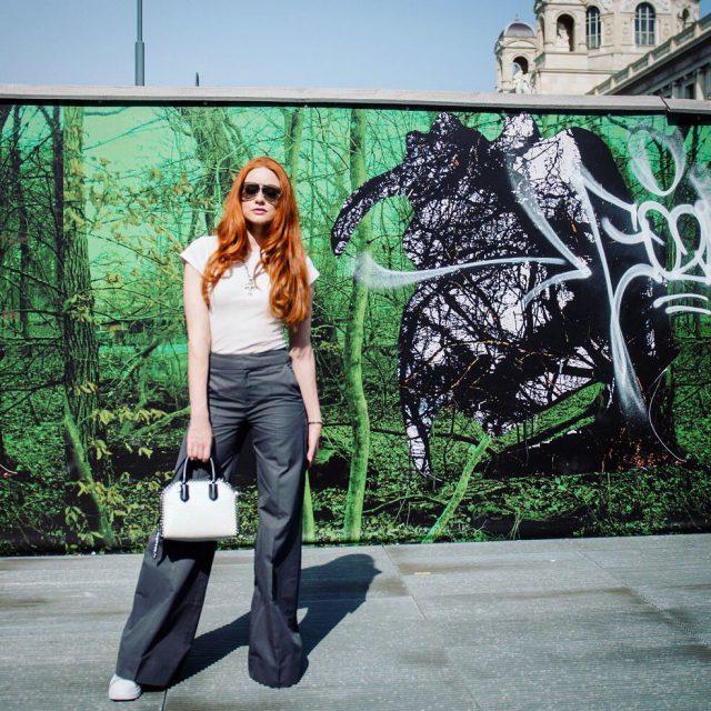 Fair fashion in Vienna  outfit filippak stellamccartney fairfashion ecofashionhellip